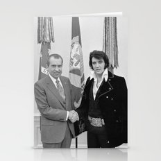 Elvis Meets Nixon Stationery Cards