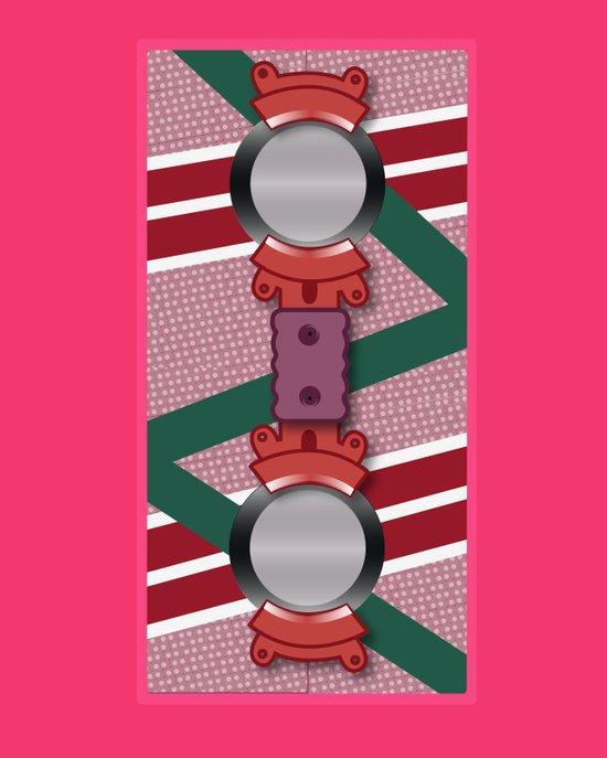 Minimalist Hoverboard Art Print