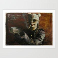 Assassinos de Categoria Art Print