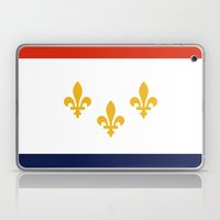new orleans city flag united states of america Laptop & iPad Skin