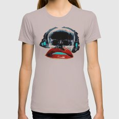 SKULLANDLIPS Womens Fitted Tee Cinder SMALL