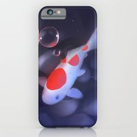 iPhone & iPod Case featuring Kohaku Koi Fishu by Rihards Donskis