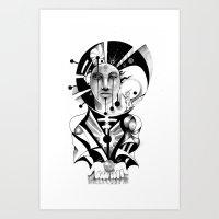 Pencil Sketch Art Print