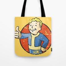 Fallout Vault boy Tote Bag