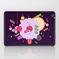 Tasty Visuals - Cherry Poppin' (No Grid) iPad Case
