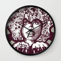 Erykah Badu Wall Clock
