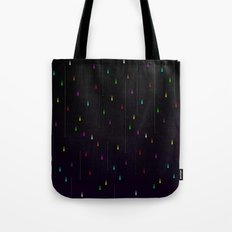 Electric Rain Tote Bag