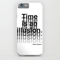 iPhone & iPod Case featuring Illusion (Albert Einstein)  by DeMoose_Art