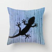 Gekkota Gecko Baby 8286 Throw Pillow