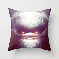 Smooth Fine Evil Throw Pillow