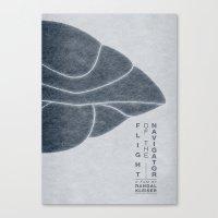 Flight of the Navigator - MINIMALIST POSTER Canvas Print