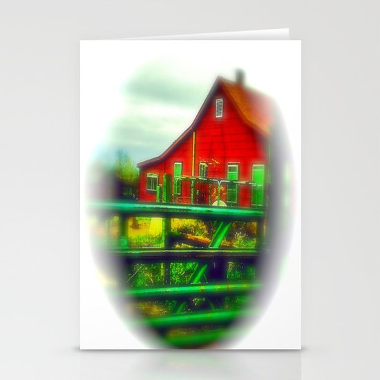 Red House Stationery Card