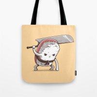Samurai sushi - Tuna Tote Bag