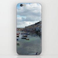 Mousehole, Cornwall iPhone & iPod Skin