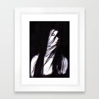 JU-ON Framed Art Print