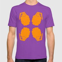 Explosive! Mens Fitted Tee Ultraviolet SMALL