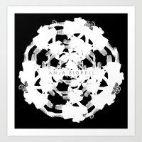Anja Bigrell - The explosion Art Print