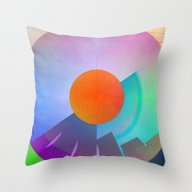 Multicolored Abstract No… Throw Pillow