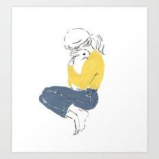 Love and peace Art Print