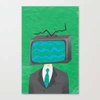 Media of the Mind Canvas Print