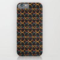 iPhone & iPod Case featuring Interlocking Circles by Ashley