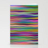 Luminous Waves Stationery Cards
