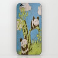 Cute Pandas iPhone & iPod Skin