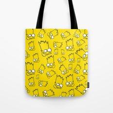 Badly Drawn Bart Tote Bag