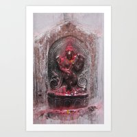 Bodhinath Shrine - 5 Of … Art Print