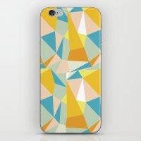 Triangular spectrum iPhone & iPod Skin