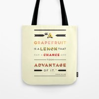 Oscar Wilde: A Grapefrui… Tote Bag