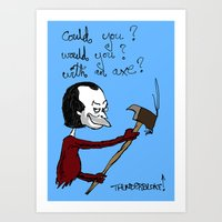 Dr Seuss' The Shining Art Print