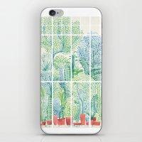 Winter in Glass Houses I iPhone & iPod Skin