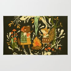 Animal Chants & Forest Whispers Rug