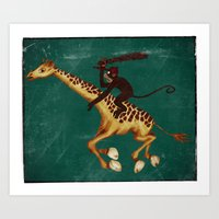 Run Through The Jungle Art Print