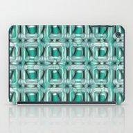 Glass Blocks Teal iPad Case