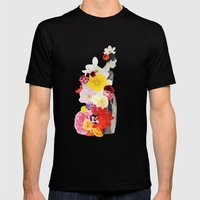 Cecelia Waits Mens Fitted Tee Black SMALL