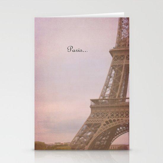 Paris... Stationery Card