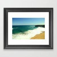 Limestone Coast - Austra… Framed Art Print