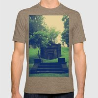 Her Secrets Were Buried With Her Mens Fitted Tee Tri-Coffee SMALL