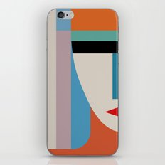 Absolute Face iPhone & iPod Skin