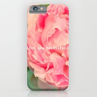 iPhone & iPod Case featuring {You are beautiful} by Lisa Argyropoulos