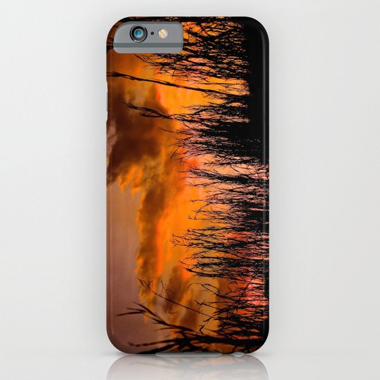 Fall's First Sunset iPhone & iPod Case