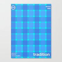 tradition single hop Canvas Print