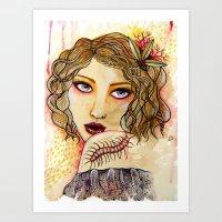 Cecilia And The Centiped… Art Print
