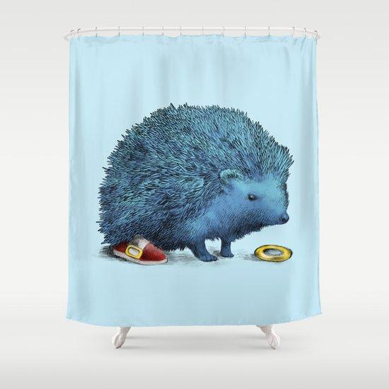 Sonic Shower Curtain
