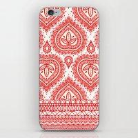 Decorative Red iPhone & iPod Skin