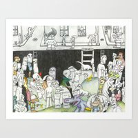 Sewer Art Print