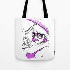 Miami Girl 80s Tote Bag