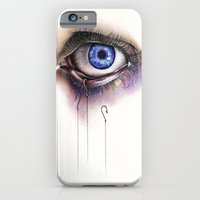 iPhone & iPod Case featuring You Caught My Eye by KatePowellArt